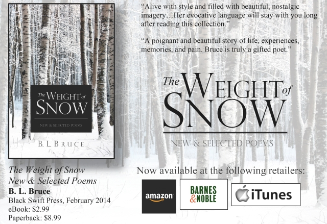 'The Weight of Snow: New & Selected Poems' by B. L. Bruce