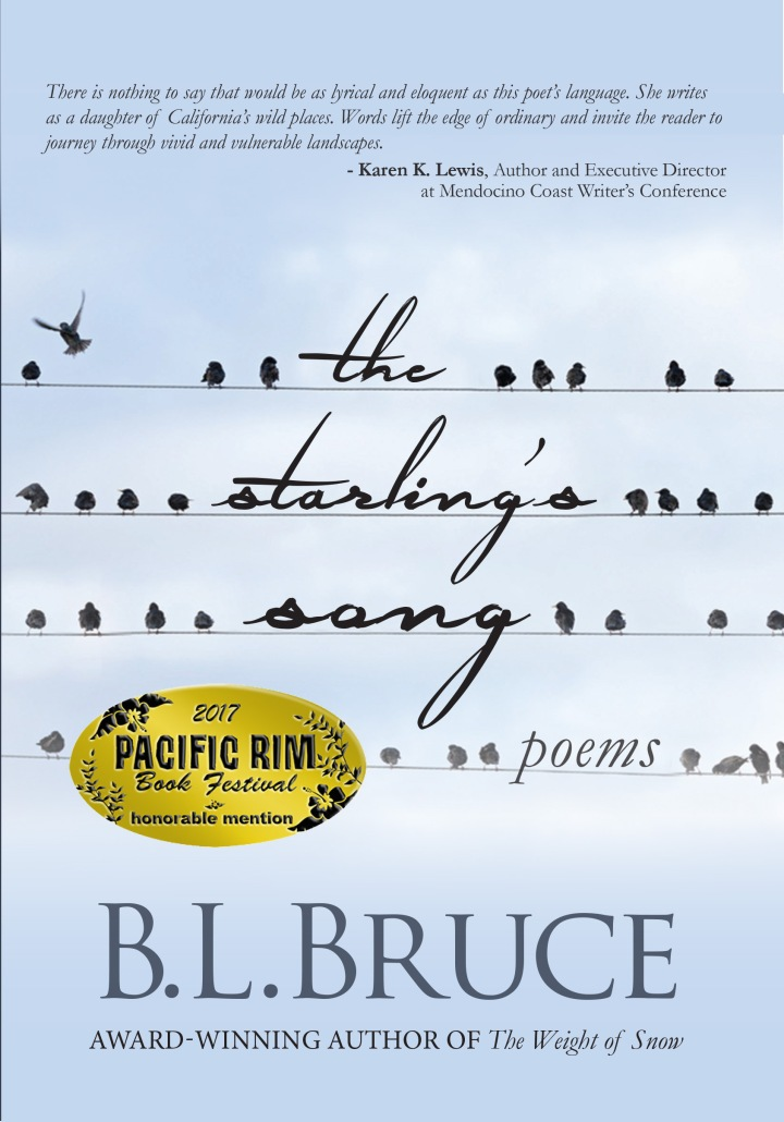 "Excerpt from 2017 Pacific Rim Book Awards Honorable Mention in Poetry: ""The Starling's Song"""