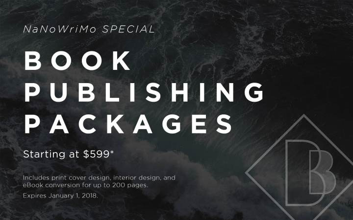 CALLING NaNoWriMo AUTHORS! Book Publishing Special