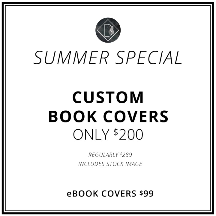 SUMMER SPECIAL! Custom Book Covers